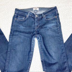 Paige Skyline Skinny Jeans 29 dark wash